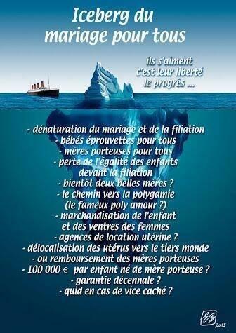 Mariage pour tous Iceberg