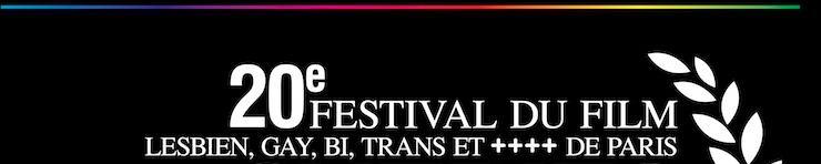 Gros plan de l'affiche du Festival Chéries-Chéris 2014
