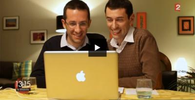 Documentaire « Deux hommes et un couffin » de l'émission 13h15 le dimanche diffusé sur la chaîne France 2 le 26 juillet 2015