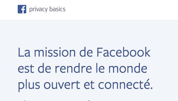 Connexion Facebook